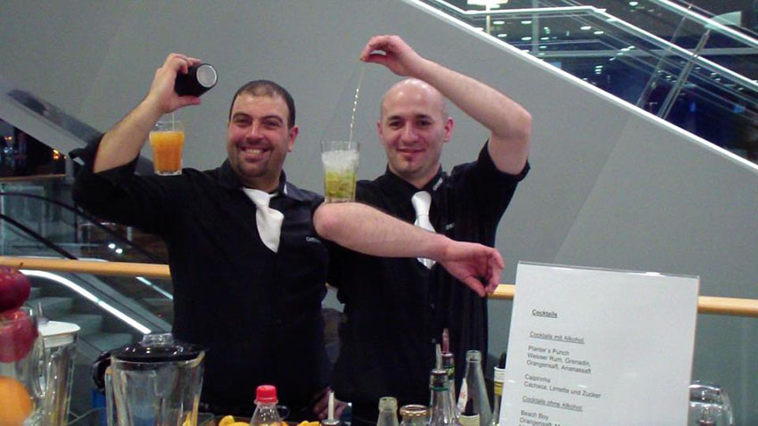 Showkeeper Cabs-Team Messe Frankfurt a.M.
